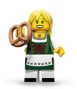 LEGO MINIFIGURA SERIE 11 | Nº 03 CHICA TIROLESA