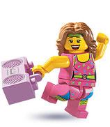 LEGO MINIFIGURA SERIE 5 | 10 ENTRENADORA FITNESS
