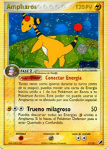 POKEMON CARTA ELECTRICO 1/115 AMPHAROS (HOLO TITULO DORADO)