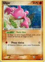 POKEMON CARTA FUERZA 57/115 GLIGAR (HOLO)