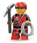 LEGO MINIFIGURA SERIE 11 | Nº 09 ESCALADOR