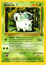 POKEMON CARTA PLANTA 57/64 NIDORAN MACHO
