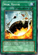 YUGIOH MAGICA | 80161395 WOK MYSTIK (1º EDC) AST
