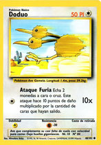 POKEMON CARTA 48/102 DODUO
