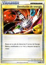 POKEMON CARTA ENTRENADOR 74/95 DEVOLUCION DE ENERGIA