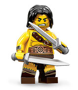 LEGO MINIFIGURA SERIE 11 | Nº 01 BARBARO