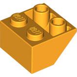 LEGO 3660 | 6170916  BLOQUE 2X2 / 45º INV NARANJA AMARILLENTO