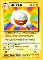 POKEMON CARTA ELECTRICO 21/102 ELECTRODE