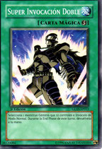 YUGIOH MAGICA | 26120084 SUPER INVACACION DOBLE (1º EDC) GLAS