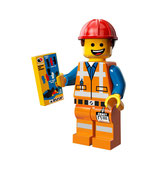 LEGO MOVIE MINIFIGURA SERIE 12 Nº 03 Emmet Casco Duro
