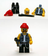 LEGO MINIFIGURA SERIE 10 | Nº 16 MECANICO MOTOS