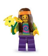 LEGO MINIFIGURA SERIE 7 | 11 HIPPIE