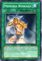 YUGIOH MAGICA | 52817046 MEMORIA BORRADA DR3