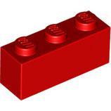 LEGO 3622 | 362221  BLOQUE 1X3 ROJO BRILLANTE