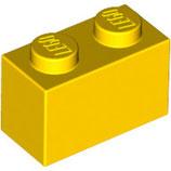 LEGO 3004 | 300424  BLOQUE 1X2 AMARILLO