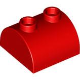 LEGO 30165 | 4521852  BLOQUE 2X2 W. ARCO Y PERILLA ROJO BRILLANTE