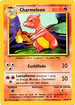 POKEMON CARTA FUEGO 24/102 CHARMELEON