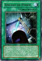 YUGIOH MAGICA | 37630732 VINCULO DE PODER (TITULO PLATEADO) (1º EDC) DP04