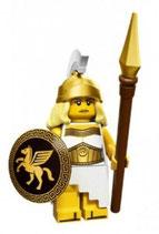 LEGO 71007 MINIFIGURA SERIE 12 Nº 05 DIOSA GUERRERA