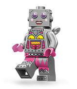 LEGO MINIFIGURA SERIE 11 | Nº 16 MUJER HUMANOIDE