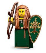 LEGO MINIFIGURA SERIE 9 | Nº 15 JOVEN DEL BOSQUE