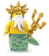 LEGO MINIFIGURA SERIE 7 | 05 NEPTUNO POSEIDON
