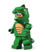 LEGO MINIFIGURA SERIE 5 | 06 HOMBRE LAGARTO