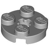 LEGO 4032 | 4211475 PLACA  2X2 REDONDA GRIS PIEDRA MEDIO