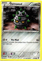 POKEMON CARTA 70/98 FERROSEED