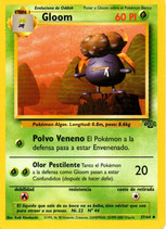 POKEMON CARTA PLANTA 37/64 GLOOM