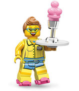 LEGO MINIFIGURA SERIE 11 | Nº 13 CAMARERA