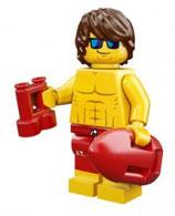 LEGO 71007 MINIFIGURA SERIE 12 Nº 07 SOCORRISTA