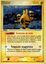POKEMON CARTA ELECTRICO 23/115 ELEKID (HOLO TITULO DORADO)