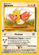 POKEMON CARTA 62/64 SPEAROW 1º EDC