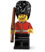 LEGO MINIFIGURA SERIE 5 | 03 GUARDIA REAL