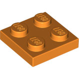LEGO 3022 | 4159007 PLACA 2X2 NARANJA BRILLANTE