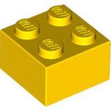 LEGO 3003 | 300324  BLOQUE 2X2 AMARILLO