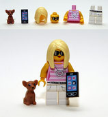 LEGO MINIFIGURA SERIE 10 | Nº 14 MUJER MODA