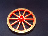 PLAY.FIG08.C1208.5230 RUEDAS CARRO GRANDE D=55 ROJO NEGRO