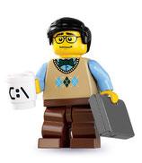 LEGO MINIFIGURA SERIE 7 | 12 INFORMATICO