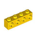 LEGO 30414 | 4164073 BLOQUE 1X4 C/ 4 KNOBS AMARILLO