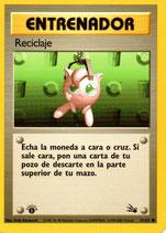 POKEMON CARTA ENTRENADOR 61/62 RECICLAJE 1º EDC