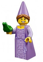 LEGO 71007 MINIFIGURA SERIE 12 Nº 03 PRINCESA Y RANA