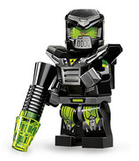 LEGO MINIFIGURA SERIE 11 | Nº 04 ROBOT MALVADO