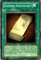 YUGIOH MAGICA | 85602018 ULTIMA VOLUNTAD (1º EDC) BIY