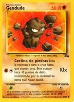 POKEMON CARTA FUERZA 47/62 GEODUDE