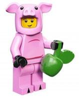 LEGO 71007 MINIFIGURA SERIE 12 Nº 14 DISFRAZ CERDITO