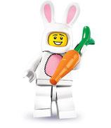 LEGO MINIFIGURA SERIE 7 | 03 DISFRAZ CONEJO