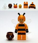 LEGO MINIFIGURA SERIE 10 | Nº 07 MUJER ABEJA DISFRAZ