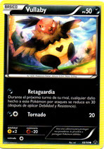 POKEMON CARTA 68/98 VULLABY